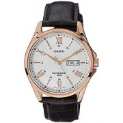 Casio Enticer Analog White Dial Mens Watch - Mtp-1384L-7Avdf (A882)