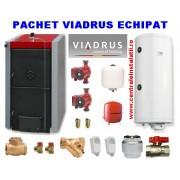 Centrale termice pe lemne Viadrus 49Kw boiler 120L+TRANSPORT GRATUIT