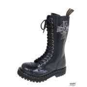 Stiefel STEEL - 15-Loch 135/136 0 BLACK CROSS