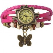 TRUE CHOICE NEW Fancy pink Color Dori Watch