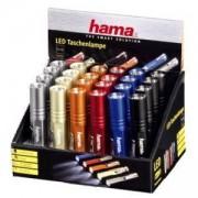 Фенер FL-70, 24 броя в кутия, Цвят LD Бял, два броя батерии HAMA-123198