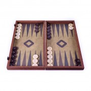 Set joc table backgammon in stil militar 48x50 cm