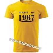 Pánske tričko Made in