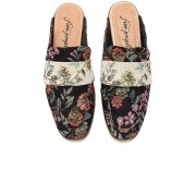 Free People Brocade At Ease Loafer in Black. - size 38 (also in 36,37,39,40,41)