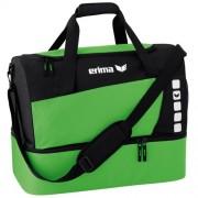 erima Sporttasche 5-CUBES (mit Bodenfach) - green/schwarz | M