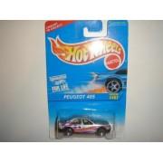 1996 Hot Wheels Peugeot 405 Silver 5sp Wheel #467