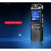Premium Digitale Recorder - Premium Voice Recorder - Multifunctionele Voice Recorder - Dictafoon 64 GB - Audio Memo Recorder Met USB - Spraak Recorder - Sound – Geluid Recorder - Opname Apparaat - Met MP3 Speler Functie – Zwart