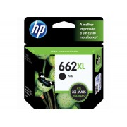 CARTUCHO DE TINTA INK ADVANTAGE HP CZ105AB HP 662XL PRETO 6,5 ML