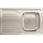 apell Tm861ilpc Lavello Cucina 1 Vasca Incasso Con Gocciolatoio Sx Larghezza 86 Cm Materiale Acciaio Inox Finitura Prelucida - Tm861ilpc Serie Atmosfera