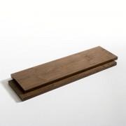 Am.pm Prateleiras, comp. 110 cm, nogueira, Taktik (lote de 2)nogueira- S