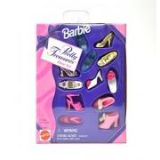 Barbie Pretty Treasure high-Heeled Shoes Set Barbie Pretty Treasures Shoe Set 14800 Parallel Import Goods