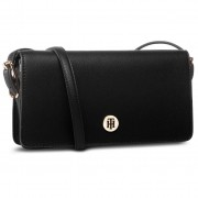 Geantă TOMMY HILFIGER - Honey Flap Crossover AW0AW07943 BLK