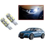 Auto Addict Car T10 9 SMD Headlight LED Bulb for Headlights Parking Light Number Plate Light Indicator Light For Audi Q3