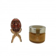 Set cadou cu ou incondeiat si miere