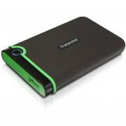 """Transcend StoreJet 25M3 1 TB 2.5"""" External Hard Drive - USB 3.0 - SATA - TS1TSJ25M3"""