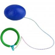 ER Saltar Bola Al Aire Libre De La Diversión Del Juguete Bolas Clásico Juguete Que Salta Fitness Equipment-Azul