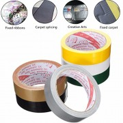 Generic 25Mmx10M Strong Permanent Waterproof Cloth Tape Self Adhesive Repair Home Carpet Décor(Silver only)