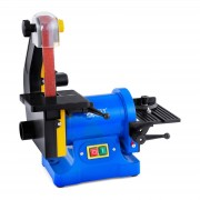 MSW Levigatrice verticale a nastro e disco con aspirazione della polvere - 250 W - Per uso professionale