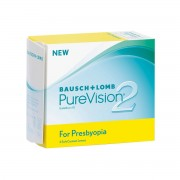 Bausch & Lomb PureVision 2 HD for Presbyopia +0.25 mensuelles 6 lentilles de contact Bausch & Lomb +0.25 Balafilcon A (Silicone Hydrogel)