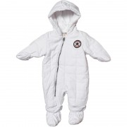 Converse - Salopeta All Star Infant suit, Alb