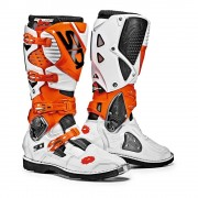 Sidi Crosslaarzen Crossfire 3 White/Orange-45 (EU)