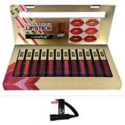 Mars Matte Liquid Lipstick A-Shade 24Hr Lasting With Free LaPerla Kajal