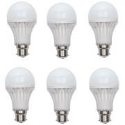Standard Xingda led bulb 9w pack of 6 white