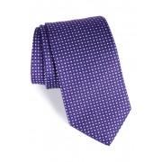 Eton Neat Dot Silk Tie PURPLE