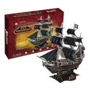 Queen Apricot Revenge Of Pirate Blackbeard 155 Pieces 3 D Puzzle Cubic Fun Series