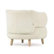 Consola MERLYN 110x35 , cristal curvado