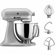 KitchenAid 5KSM125BFG 4.8L Artisan Stand Mixer Matte Silver