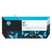 Мастило HP 91, Cyan (775 ml), p/n C9467A - Оригинален HP консуматив - касета с мастило