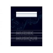 Muziekschrift A5 10 stuks
