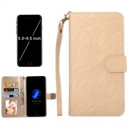 A2 Universal Da Vinci Texture Horizontal Flip Leather Case with Crad Slots & Wallet & Photo Frame & Magnetic Buckle & 18cm Lanyard for iPhone 7 Plus & 6s Plus & 6 Plus Samsung Galaxy S7 Edge & S6 Edge+ Huawei P9 Plus & Mate 8 & Mate 7 Size: 15.7 x 8 x 1.