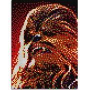 Pixel Art Star Wars Chewbacca Quercetti