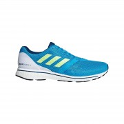 adidas Men's Adizero Adios 4 Running Shoes - Blue - US 11.5/UK 11 - Blue