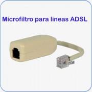 Microfiltro para lineas ADSL