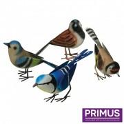 Set van 4 Engelse vogels