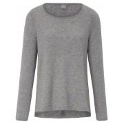 FTC Cashmere Trui ronde hals van 100% kasjmier FTC Cashmere grijs