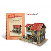 Puzzle 3D CubicFun CBFB Coffe Shop in Vietnam