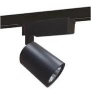 Proiettore Led Per Sistema A Binario Eagle 10w 1000 Lumen 4000k Colore Nero