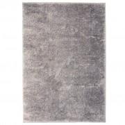 vidaXL Рошав килим тип шаги, 120x170 см, сив