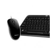 Kit de Teclado y Mouse Gigabyte GK-KM6150, USB, Negro