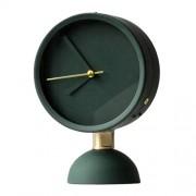 Margot M. Reloj de Mesa de la Sala Relojes de Escritorio del Dormitorio con Pilas del Silencio Decoración nórdica Europea Creativa Moderna Simple Green R.