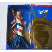 Barbie Statue of Liberty Limited Edition FAO Schwarz Doll (1995)