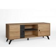Set de muebles de terraza de diseño moderno Nautilus, ratan, aluminio