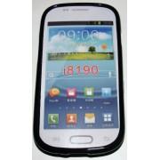 Силиконов гръб ТПУ за Samsung I8190 Galaxy S III mini Черен