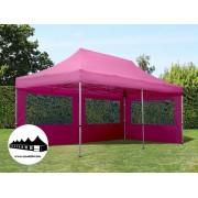 3x6m összecsukható pavilon Alutec Pink (Economy Alutec Pop-Up)