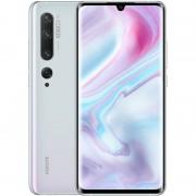 Telefon mobil Xiaomi Mi Note 10 EU AMOLED Full HD+ 128GB 6GB RAM Senzor 108 mpx Baterie 5260 mAh Dual SIM Glacier White