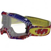 Oakley Proven Mx Podium Check Red / Blue Clear
